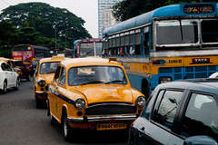_9266260 (frederik_rowing) Tags: world road street trip travel portrait people india bus travelling heritage classic colors car yellow landscape four photography smog driving colours shot traffic arms cab taxi great colonial goa documentary vivid olympus line unesco route riding busy monsoon elbow lane commute micro rushhour ambassador jam calcutta congestion hampi omd oly thirds ep1 ep2 ep3 kolkatta mft hindustan 1442 ep5 incredibleindia mirrorless