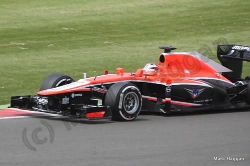 Max Chilton in Qualifying for the 2013 British Grand Prix