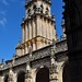 Le clocher, cloître gothique, cathédrale de St Jacques de Compostelle, province de La Corogne, Galice, Espagne.