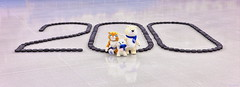 200 days to Sochi 2014 Olympic Games to go (Sochi 2014 Winter Games) Tags: icehockey 200 cocacola olympic countdown mascots olympicpark sochi  olympicmascot   sochi2014 2014 2014    bolshoiicedome