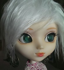 Cutie (Houselurver11) Tags: eyes mod planning wig pullip jun modded coolcat obitsu stica aridessa alicescollections