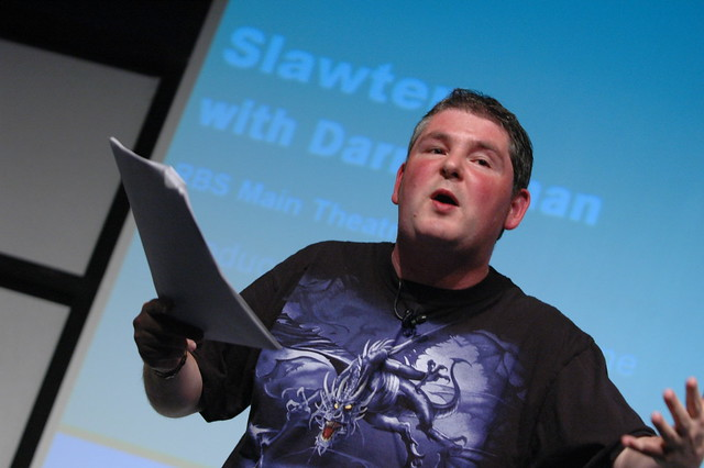 Darren Shan on stage