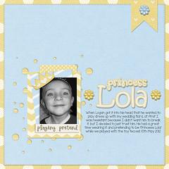 Princess Lola (Lukasmummy) Tags: tiara cute pretty princess memories may lola dressingup logan 2012 pretend roleplay jencdesigns littlebitshoppedesigns