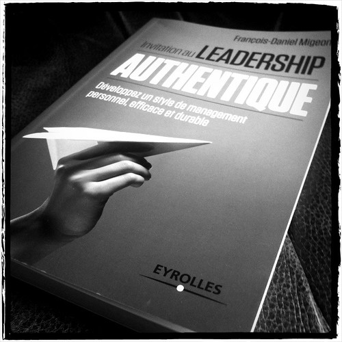 Invitation au leadership authentique.
