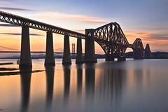Forth Bridge Sunset 4 September 2013