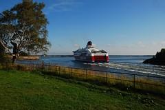 A Passing Ship (Let Ideas Compete) Tags: world cruise sea heritage ferry finland helsinki ship landmark icon line unesco cruiseship viking fortress iconic touristattraction suomenlinna sveaborg viapori saari suokki touristsattraction