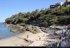 Gordons Bay, Sydney, Australia (JH_1982) Tags: new travel travelling beach wales canon boats eos bay boat south sydney australia nsw coastline australien traveling tamron gordons australie 18mm     270mm  60d   sdney