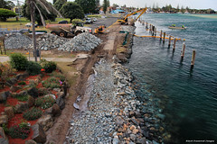Tuncurry, NSW -  John Wright Park Foreshore Revetment Work - Oct 1st 2013 (Black Diamond Images) Tags: lakes australia greatlakes nsw rockwall tuncurry midnorthcoast tuncurrynsw greatlakesnsw johnwrightpark rockrevetment oct1st2013 foreshorerevetmentwork tuncurryforeshore tuncurrywaterfront