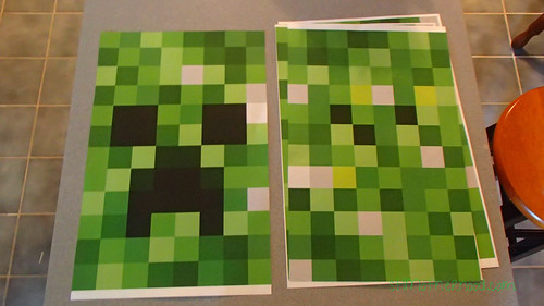 minecraft creeper costume : printable minecraft costume  - Germanpascual.Com