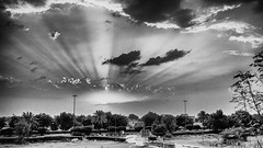 After the rains (dmjames58) Tags: bw monochrome clouds canon uae nik alain hdr niksoftware