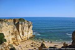 Litoral entre a Praia da Coelha e a Praia do Castelo - Portugal (Portuguese_eyes) Tags: portugal geotagged castelo coelha geo:lat=3707413146597557 geo:lon=8295782804489136