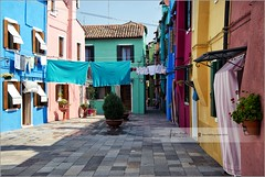 Laundry day in Burano | Italy (Stefan Cioata) Tags: old city travel vacation italy holiday tourism colors beautiful photography marketing nikon europa europe italia village view image sale exploring details great joy visit tourist stefan explore most destination colored walls sight lovely top10 visiting iconic available burano d800 advertise veneto touristical cioata