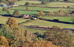 On the Valley Floor (Jim the Joker) Tags: train railway brush pullman ecs drs class47 type4 shropshirehills allstretton 47832 northernbelle 5z66 themarchesline