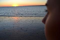 (...Away...) Tags: summer beach me girl beautiful face river spain sand day lateafternoon sanlucardebarrameda