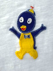 Backyardigans em patchaplique! (Cantinho do Patch by Talissa) Tags: pablo patchwork camiseta blusa backyardigans patchaplique