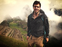 George at Machu Picchu