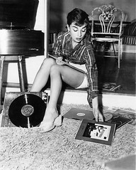 Audrey Hepburn 1950s (Railroad Jack) Tags:
