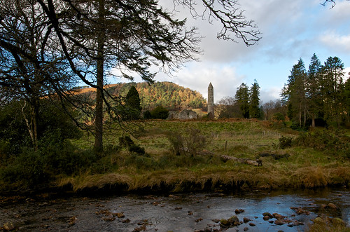 Glendalough round tower ©  Still ePsiLoN