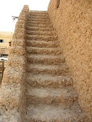Siwa Oasis, Egypt (goodhike) Tags: brick stairs stair mud egypt arabic oasis adobe egyptian siwa