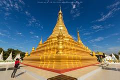 Sanda muni pagoda, Mandalay, Burma (Noom HH) Tags: travel architecture temple gold golden pagoda asia burma buddhist religion buddhism bluesky myanmar mandalay peple traveler traveldestinations famousplace 2013 goldenpagoda sandamuni