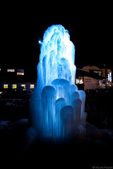 IMG_0666 (Nicola Pezzoli) Tags: santa gröden ice fountain night canon river nicola cristina fiume val alto dicembre notte dolomiti manfrotto bolzano ghiaccio gardena ortisei adige fontane 600d pezzoli 2013