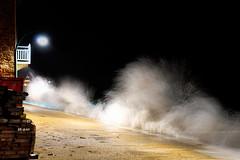 Saint Malo  - Grande mare janvier 2014 (apophisnico) Tags: night brittany sony bretagne vague nuit saintmalo houle tempete 2014 mare poselongue grandemare citcorsaire slta77 sony1650 coefficientmare