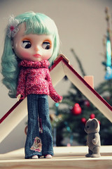 Blythe of the day : Mimo,What is this little thing?