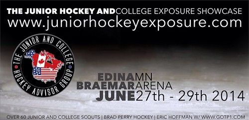 The junior and college hockey exposure showcase