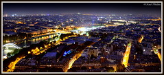 Streets of Paris (Renal Bhalakia) Tags: paris france night europe cityscape nightlights nightshot eiffeltower toureiffel nightview cityskyline cityview parisbynight iso1000 nikond600 topofeiffel renalbhalakia nikon28300mmvr