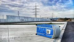 toi toi toi (festfotodesign) Tags: landscape highway toilette autobahn beton toi autobahnraststätte lärmschutzwall flickrandroidapp:filter=none