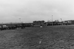 400 newidydd kV ar gyfer yr is-orsaf yng ngorsaf ber Trawsfynydd Rhagfyr 1987. 400 kv transformer for the substation at Trawsfynydd power station December 1987 (Martin Pritchard) Tags: station for december power ar transformer 1987 400 substation yr kv lorries yng trawsfynydd rhagfyr gyfer econofreight newidydd isorsaf ngorsaf ber
