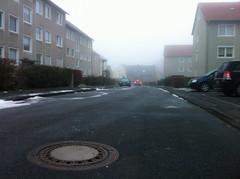 Montagmorgen (goestern) Tags: winter urban nebel grau stadt blau kalt gttingen
