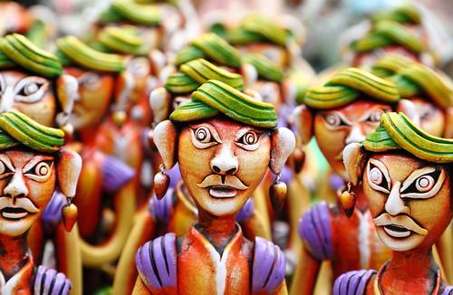 Handmade statues