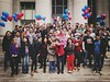 The biggest team that we ever had. To the next 10 amazing years for Flickr. #flickr10 (spieri_sf) Tags: flickrhq flickr10