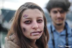 ZombieWalk (GrafixTherapy) Tags: venice portrait 50mm blood nikon zombie walk undead f18 18 zombies 50 venezia zombiewalk zombiewalk2014 zb2014
