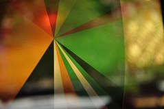 DSC_3125 [ps] - The Needle Skips (Anyhoo) Tags: red orange white abstract black green window glass yellow design sticker graphic sydney australia nsw newsouthwales decal transfer oxfordstreet radiating glazing darlinghurst piechart anyhoo photobyanyhoo