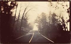 An eerie morn. Copyright Sherrie Deveau (Sherrie D.) Tags: nova driving roads scotia antiquefilter