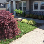 """Greenhaven Landscapes Inc., curb appeal, grass, lawn, entryway, walkway <a style=""""margin-left:10px; font-size:0.8em;"""" href=""""http://www.flickr.com/photos/117326093@N05/12824376734/"""" target=""""_blank"""">@flickr</a>"""