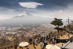 Mt. Fuji View From Kachi Kachi Ropeway (notjustnut) Tags: travel field japan landscape fuji landmark traveller fujisan ropeway mtfuji kawaguchiko yamanashiprefecture kachi kawaguchilake minamitsurudistrict