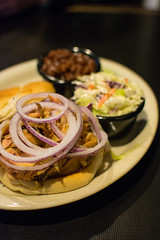 Lester's (Spencer Pernikoff) Tags: chicken beans nikon stlouis bbq slaw pickle coleslaw lesters d7100