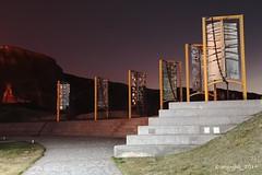 Anclas (angelbg) Tags: asturias salinas nocturna ancla cousteau largaexposicin castrilln vision:outdoor=0926 vision:sky=0853 vision:street=0582 vision:dark=0684