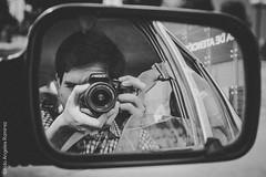 autoretrato (FoteandoPE [ O ]) Tags: street bw white black peru canon vintage landscape polaroid blackwhite calle cafe lomography pentax negro autoretrato retro urbana lente barranco t3i callejera 600d photograpfy instagram