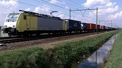Captrain with Mannheim Shuttle Container Train at Sevenum, Tradeport,Heierkerweg NL (pipoclown269) Tags: cargo railfan trainspotting trein sevenum containertrain tradeport captrain heierkerkweg