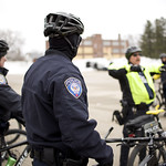 Officer Daniel Wallace receives instruction at bike rapid response training thumbnail