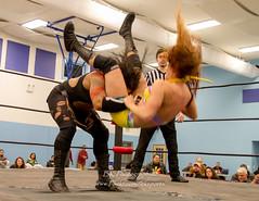 Nyla the Destroyer, Ahsley America (bkrieger02) Tags: wrestling squaredcircle valkyrie divas prowrestling knockouts womenswrestling ragnorak professionalwrestling valkyriewomenswrestling valkyriewrestling