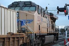 Union Pacific #5331 (GE C45ACCTE) in Emeryville, CA (CaliforniaRailfan101 Photography) Tags: up amtrak unionpacific ge bnsf sanjoaquin emeryvilleca capitolcorridor emd intermodal gp382 californiazephyr burlingtonnorthernsantafe f59phi es44dc gevo sd70m amtk amtrakcalifornia bnsfrailway cdtx sd70ace es44ac c45accte p42dc b328wh