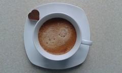 """""""Wśród oceanu czarnej kawy płynę do wyspy ukojenia"""" (elusja) Tags: coffee café kaffee kawa e1usya"""