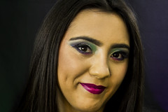 makeup (Alessandriphotography) Tags: black green girl fashion makeup lips beuty mua purble