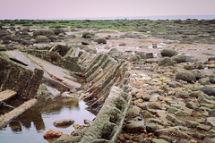 Marooned (dougsfilmsinc) Tags: beach ruins rocks stones pebbles hunstanton marooned shipwrecked