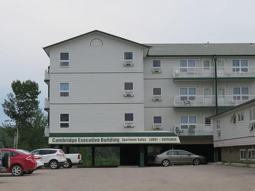 Cambridge Executive Building in Hay River, Northwest Territories
